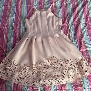 Vince Camuto Baby Pink Dress